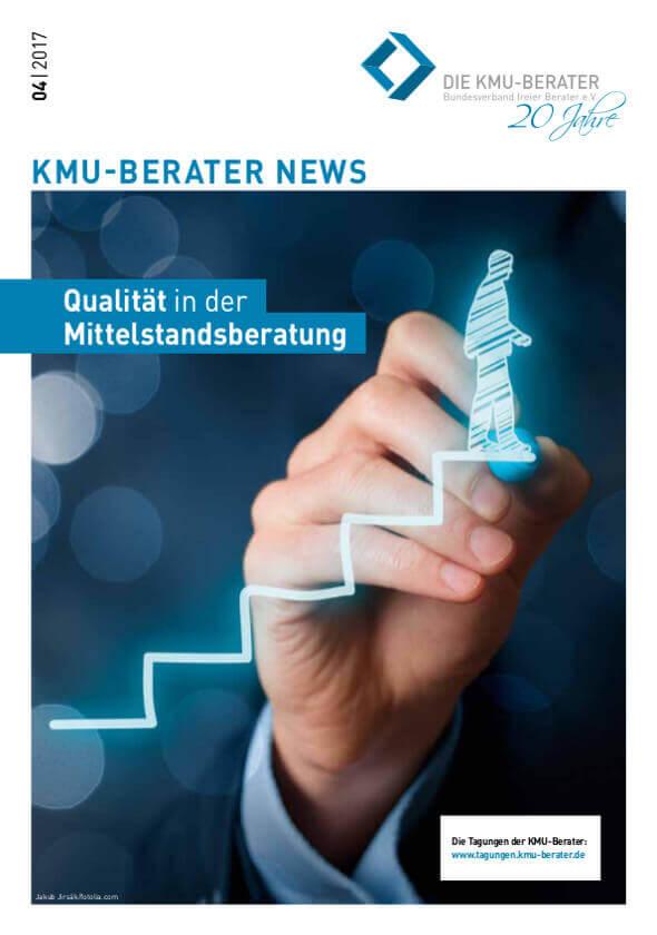 2017 04 kmu berater magazin qualitaet in der mittelstandsberatung
