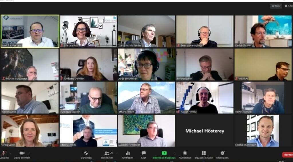 Online-Tagung der Regionalgruppe West
