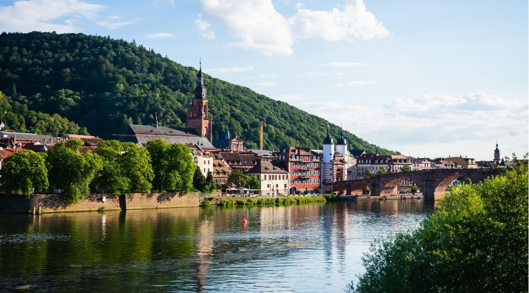 Neckarbrücke Region Süd-West