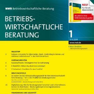NWB-Betriebswirtschaftliche Beratung Magazin