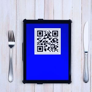 Touchless-Speisekarte mit QR-Code